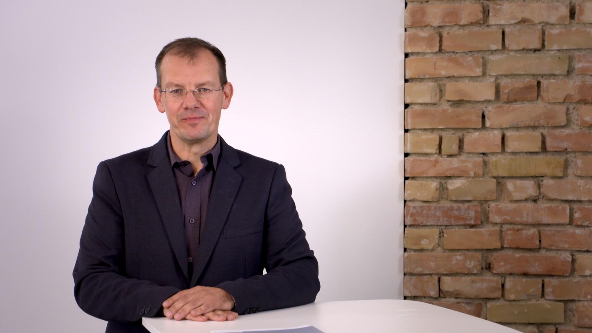 Projektleiter Markus Baumann über die Ziele und Chancen des Projekts